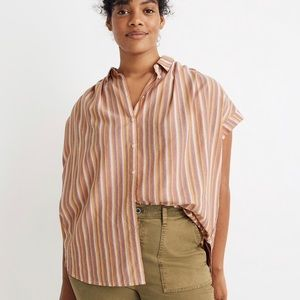 NWT Madewell Plus Size Central Shirt